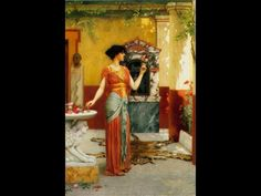 John-William-Godward-The-Bouquet.JPG (800×600)