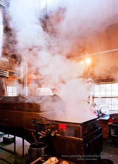 If Only You Could Smell the Maple Aroma...  Photo Courtesy of Jeffrey Newcomer at Stonewall Farm, Keene NH