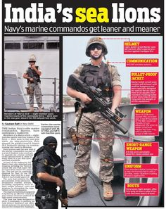 MARCOS, previously named as Marine Commando Force (MCF), is the special forces unit of the Indian Navy. created for conducting special operations such as Amphibious warfare, Close Quarter Combat Counter-terrorism, Direct action, Special reconnaissance, Unconventional warfare, Hostage rescue, Personnel recovery, Combat search and rescue, Asymmetric warfare, Foreign internal defence, Counterproliferation, Amphibious reconnaissance including Hydrographic reconnaissance…