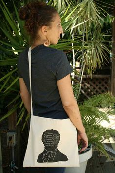 Jane Austen Messenger Tote Bag - Mr Darcy Proposal by 10cameliaway on Etsy $18