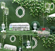 Garden Theme Wedding Deco and Photobooth Service start from Wedding Pins, Wedding Venues, Ribbon Wedding, Wedding Backdrops, Wedding Ideas, Wedding Photo Booth, Wedding Photos, Garden Wedding, Dream Wedding