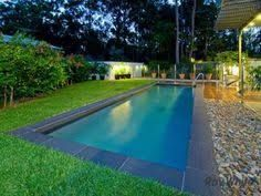 Image result for timber decking and synthetic turf around pool