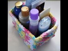 ▶ Easy to crochet storage containers - YouTube