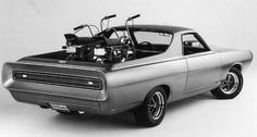The Ford Ranchero.  Not just a car... Also a truck.