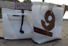 recycled sailcloth bag
