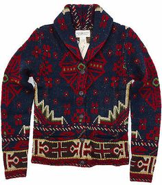 Ralph Lauren Denim and Supply Indian Sweater Cardigan SOLD OUT!!! NEW! L Winter Sweaters, Sweater Coats, Men Sweater, Sweater Cardigan, Ralph Lauren Boots, Aztec Cardigan, Fashion Outfits, Mens Fashion, Fashion Trends