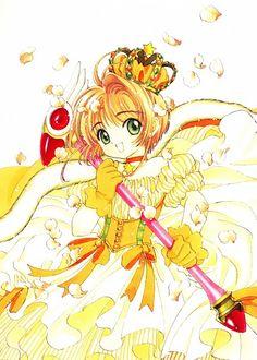 CLAMP, Cardcaptor Sakura, Cardcaptor Sakura Illustrations Collection 3, Kinomoto Sakura, Sealing Wand, Staff