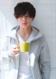 "ymda-rysk: ""Someone really likes the ""Yamada drinking coffee in a white shirt and hoodie"" aesthetic a lot . Jumping Gif, Ryosuke Yamada, Joo Hyuk, Sungjae, Seungri, My Memory, Beautiful Men, Japanese, Memories"