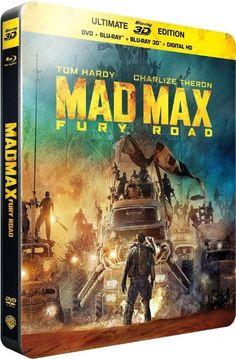 Mad max : fury road [Steelbook 3D - édition limitée] [SteelBook Ultimate Édition - Blu-ray 3D + Blu-ray + DVD + Copie digitale]