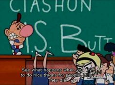 ☠ The Grim Adventures of Billy & Mandy ☠ Funny Shit, Funny Posts, Funny Cute, Hilarious, Funny Stuff, Funny Things, Random Stuff, Cartoon Network Viejo, Old Cartoon Network