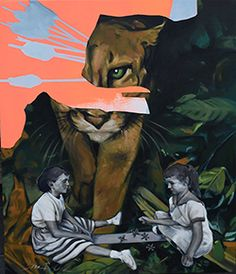http://triangleartsandentertainment.org/wp-content/uploads/2016/02/Shaun-Richards-Hunger-Games-oil-and-acrylic-on-canvas-2015.jpg - February First Friday Features Regional Artist Project Grantees - [Raleigh, N.C.] – Join United Arts for a special February First Friday Exhibit and Reception on February 5 from 6-8 pm at the MJH Gallery, 410 Glenwood Ave., Suite 170, Raleigh. Regional Artist Project Grantees will be our special exhibitors and guests. Regional Artist Project