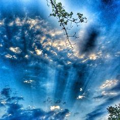 Mr. blue sky  #peaceful #amazing #clouds #snapseed #outdoor #nature #photography