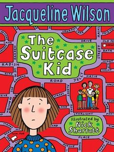 The Suitcase Kid - Jacqueline Wilson. a book you can read in a day. A book by a female author Good Books, Books To Read, My Books, Amazing Books, Free Books, 90s Childhood, Childhood Memories, Jacqueline Wilson Books, Carrie