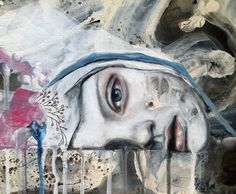 """Desert daydream"" painting by artist Kim Johnson"