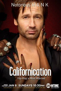 Californication is an American dramedy television series that debuted on Showtime on August 13, 2007. The show was created by Tom Kapinos. Hank Moody  is a troubled novelist who moves to California and suffers from writer's block which complicates his relationships with his longtime girlfriend Karen (Natascha McElhone) and daughter Becca (Madeleine Martin). Californication's other main characters are Charlie Runkle (Evan Handler), Marcy Runkle (Pamela Adlon), and Mia Cross (Madeline Zima).