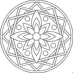 MANDALA MALVORLAGEN | Coloringpages321.com