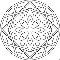 MANDALA MALVORLAGEN   Coloringpages321.com