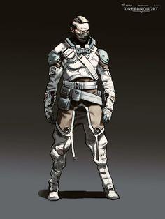 ArtStation - Dreadnought: winter captain outfits., Yuriy Mazurkin