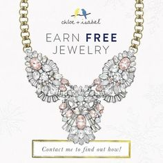 Book a pop up party with me, get your jewelry for free! www.chloeandisabel.com/boutique/carriecookeketterman#35443