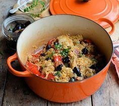 Spanish Chicken and Rice - One Pot Winter Wonder