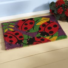 Ladybug Doormat $34.99
