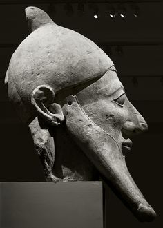 of an Etruscan or Cypriot soldier? curious - looks like a false beard in the egyptian manner C. BCE Cyprushead of an Etruscan or Cypriot soldier? curious - looks like a false beard in the egyptian manner C. Ancient Greece, Ancient Egypt, Ancient History, Carthage, Statues, Empire Romain, Art Premier, Art Sculpture, Minoan