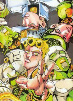 JoJo's Bizarre Adventure: Golden Wind Manga Anime, Manga Art, Anime Art, Jojo's Bizarre Adventure Anime, Jojo Bizzare Adventure, Lac Michigan, Jojo's Adventure, Jojo Parts, Jojo Anime