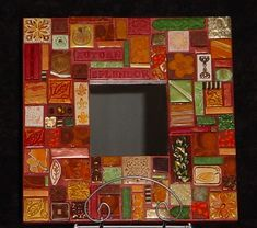polymer clay tile mosaic by anticipation_05, via Flickr