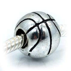 """$6.99 High Quality Silver Spacer Bead You will receive one European, Pandora style slide on Silver Bead Handmade as shown in picture. If you have any questions about bracelet comparability, or any other questions,Feel free to send me a message """"Pro Jewelry"""" I will answer as promptly as possible."""