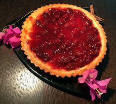 Τάρτα με κρέμα λευκης σοκολάτας ΙON και φράουλες! - ION Sweets Caviar, Sweets, Fish, Meat, Recipes, Gummi Candy, Candy, Pisces