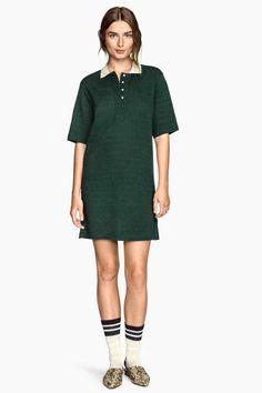 Sukienka z piki z lnem 149,90 PLN H&M