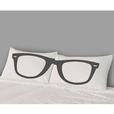 Glasses Pillow Covers - fun!