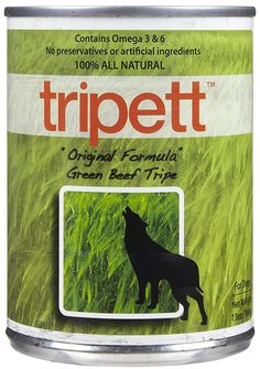 Tripett Grain-Free All Natural Dog Food, 13 oz cans, Pack of 12 -- More info could be found at the image url. (This is an affiliate link) #DogFood