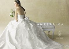お花が可愛い*アンテプリマのドレスを着て、エレガントで可憐な花嫁になる♡
