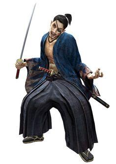 Goro Majima (真 島 吾 朗) - Samurai!