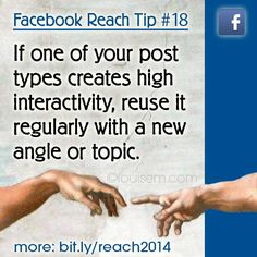 Know what to do with your best Facebook posts?  Identify them, adapt them, repurpose them!  Be sure to use your #Facebook Insights so you know which posts are creating engagement with your fans.  Read more --> http://louisem.com/5515/best-facebook-posts  #FacebookPages #FacebookTips #FacebookMarketing