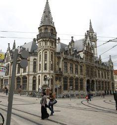 Post, Korenmarkt, Gent