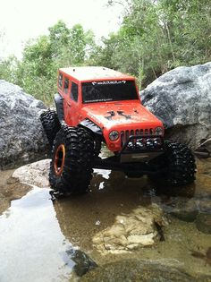 Bender Customs built an Axial SCX10-JK. Every Jeep owner should have a mini. It's an RC Jeep!
