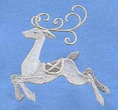 White Christmas Reindeer