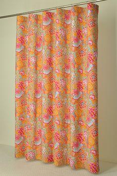 78 Inch Long Shower Curtain Fabric | Black U0026 White Floral Extra Long Shower  Curtain, 200cm / 78 Inches | Shower Curtains | Pinterest | Floral, Extra  Long ...
