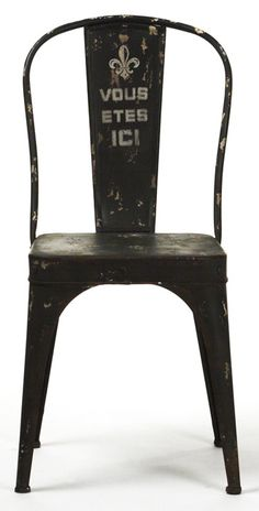 Christelle Iron Side Chair