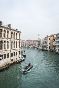 Take us away to Venice.