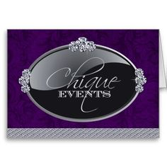 Shop Classy Event Planner Thank You Card created by colourfuldesigns. Business Thank You Cards, Custom Thank You Cards, Paper Texture, Smudging, Your Cards, Things To Come, Classy, Personalized Items, Prints
