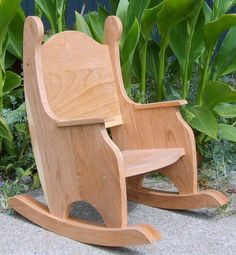I just listed Children's Rocking Chair, Cherry w/Clear Finish on The CraftStar @TheCraftStar #uniquegifts