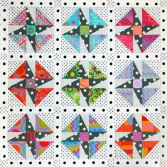 Sewing projects for the home craft patterns signs 61 Ideas Scrappy Quilts, Easy Quilts, Mini Quilts, Patchwork Quilting, Hand Quilting, Quilting Projects, Quilting Designs, Sewing Projects, Quilt Baby