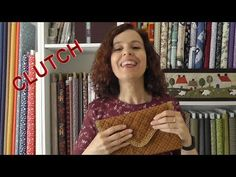 How to make 5 cloth bags - Ana Leal Patchwork - Fabric Bins, Sewing Projects For Beginners, Clutch, Cloth Bags, Crochet Patterns, Knitting, How To Make, Etsy, Crochet Pumpkin