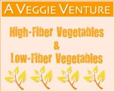 List of High-Fiber & Low-Fiber Vegetables Low Fiber Vegetables, List Of Vegetables, Veggies, Vegetable Stew, Vegetable Nutrition, Vegetable Seasoning, Veggie Food, Kohlrabi Recipes, Sprout Recipes