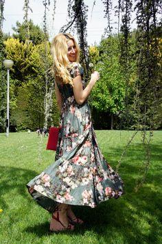 Floral dress!!!