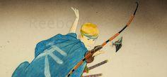 samurai, archer, arquero, flecha, arrow