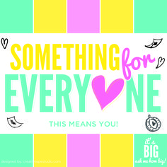 Something For Everyone  - Origami Owl® Social Media Graphic